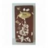 Tablette chocolat lait aux éclats d'amandes et gingembre confit 100gr