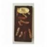 Tablette chocolat noir aux écorces d'orange 100gr