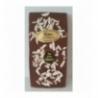 Tablette chocolat lait aux éclats d'amandes 100g